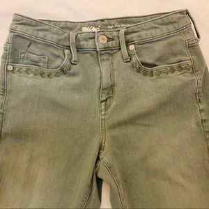 Mossimo High Rise Skinny Power Stretch Jeans Sz. 6